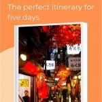 Perfect 5 day Tokyo itinerary for first timers, with inside tips and suggestions. Discover what to do in Tokyo in five days here including where to go in Tokyo, what to see in Tokyo, where to eat in Tokyo and what to drink in Tokyo. #Japan #Tokyo