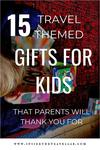 Travel themed gifts for kids
