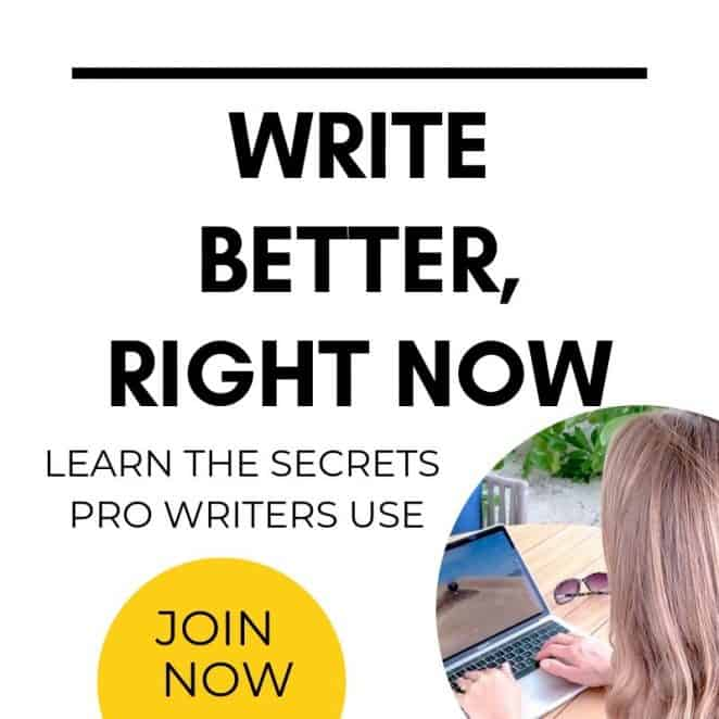 Write Better Online Course Learn the Secrets Pro Writer Use