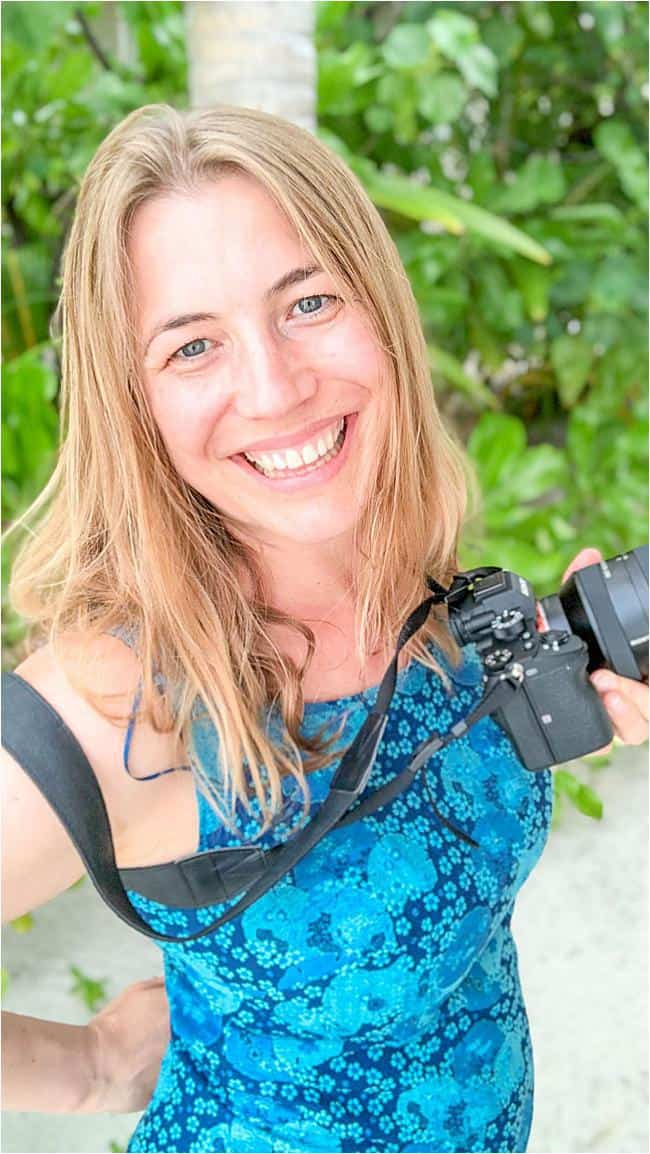 Abigail King with camera talks about becoming a writer