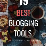 Best blogging tools for beginners and intermediates and pros. Find blogging software to supercharge your blog. #blogging #tips