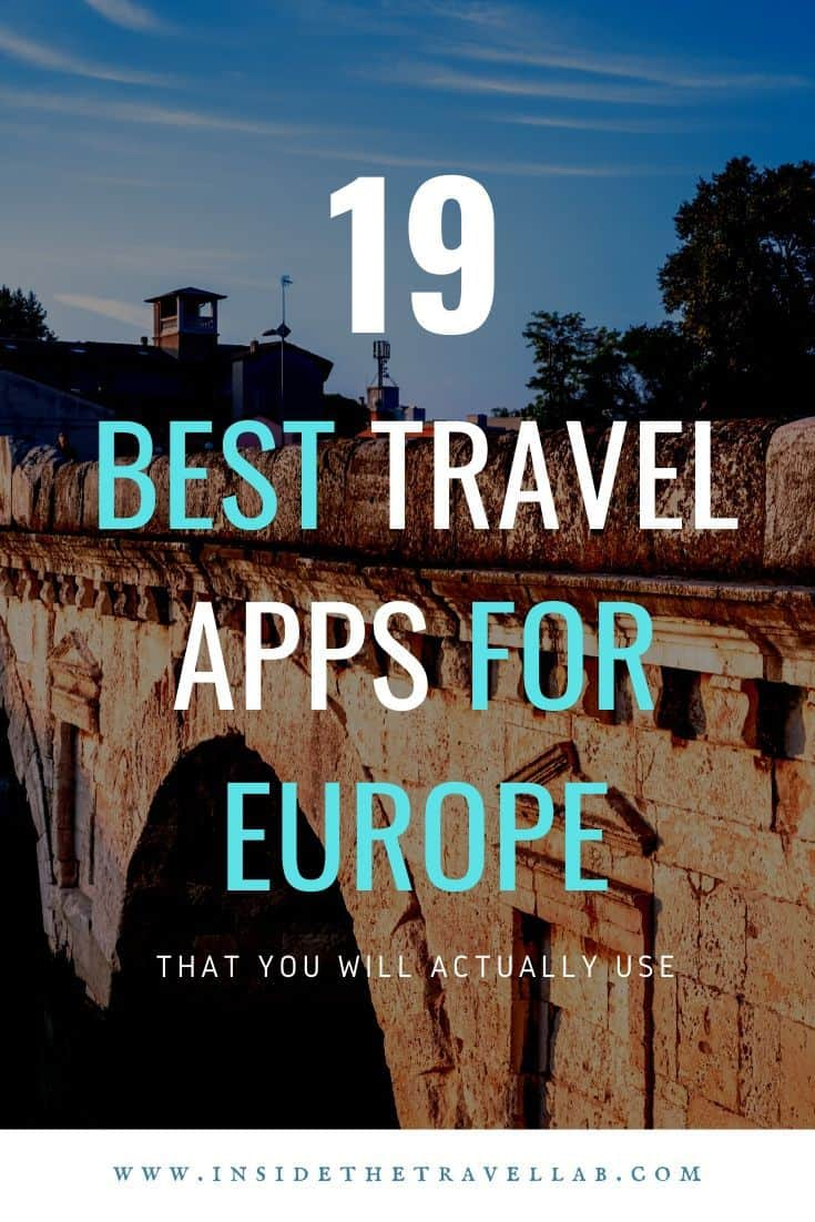 Best travel apps for Europe that smart travellers will use cover image