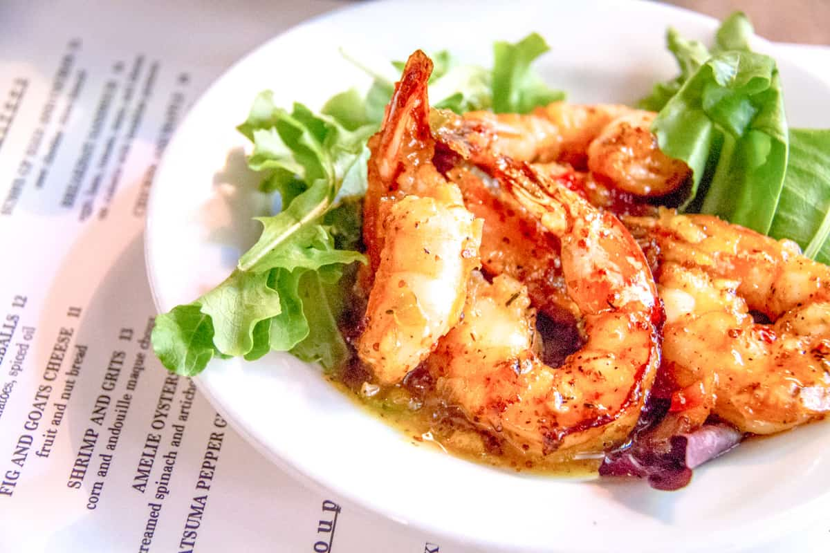 Louisiana - New Orleans - Creole Cuisine Prawn Dish