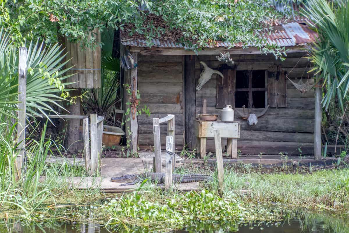 Louisiana -New Orleans - Swamp Shack