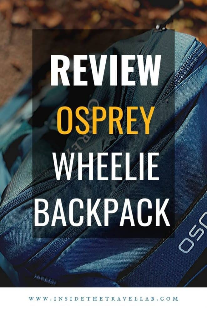Take a look at the Osprey Farpoint 36 wheeled suitcase with backpack. The harness folds away for city slickers and carry on, and easily comes out for cobbled streets or travel with children. Read the full review here. #suitcases #wheelies