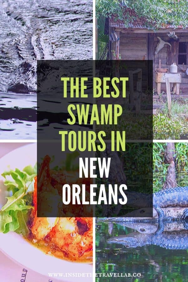 The best swamp tours in New Orleans - a round up of the best swamp tours and why it's worth going on them! From day trips to night tours, plantation tours and air boats, here's how to pick the best swamp tour for you from New Orleans. #USA #NOLA #NewOrleans