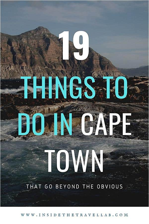 Brilliant and unusual things to do in Cape Town from hiking to shopping to checking out design shops. Find some of the most amazing things to do in Cape Town and plan your trip to South Africa. #Travel #CapeTown #SouthAfrica