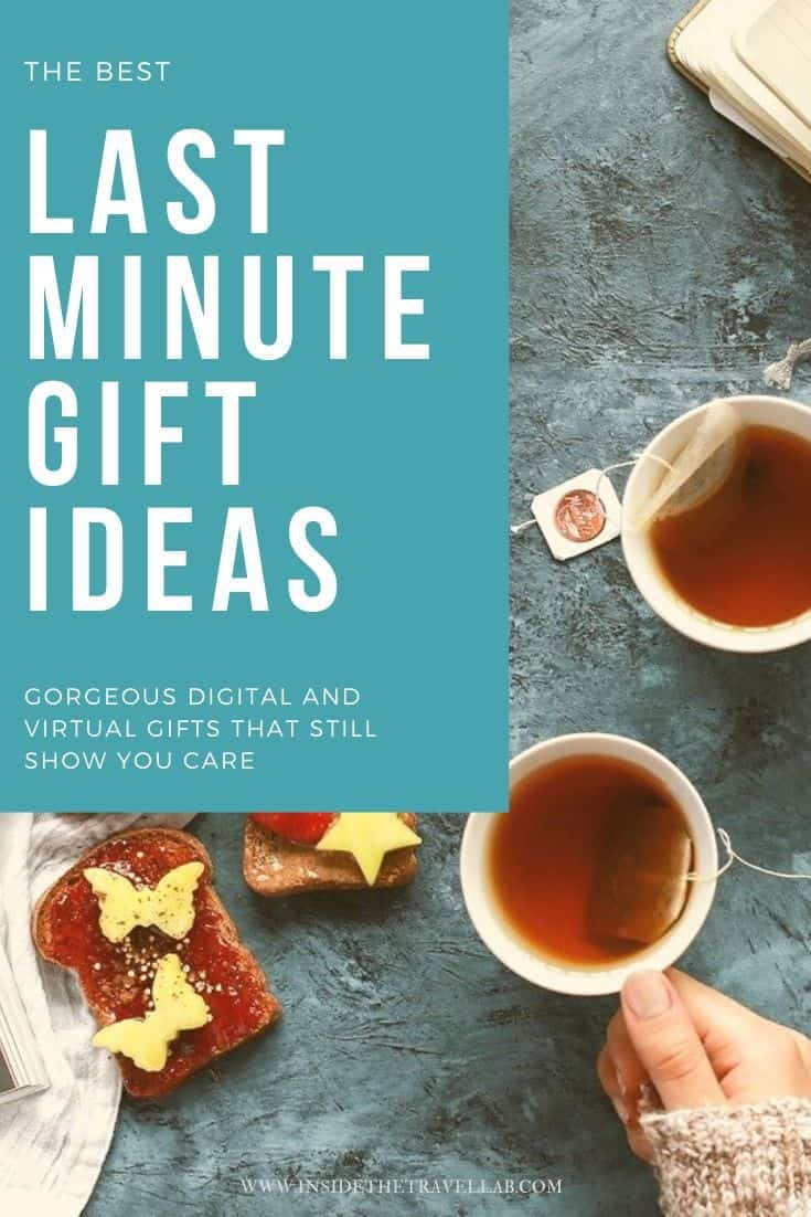 Last minute gift ideas and e gifts guide cover image