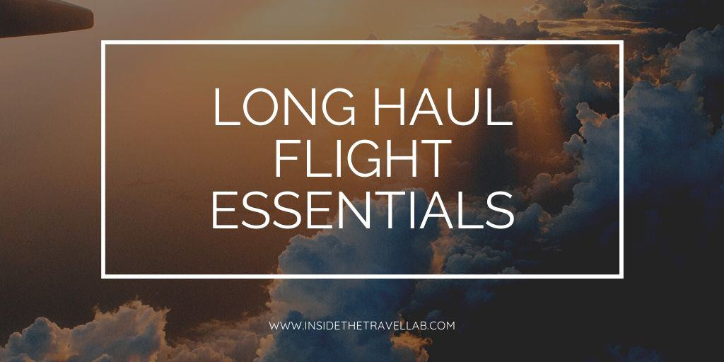 Long Haul Flight Essentials Social Cover Image