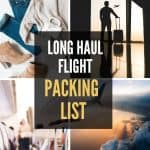 Long Haul Flight Essentials Packing List for Carry On