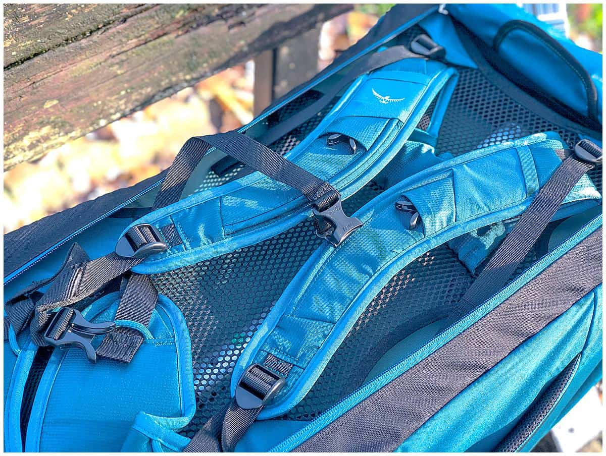Osprey Farpoint 65 Review Backpack Harness
