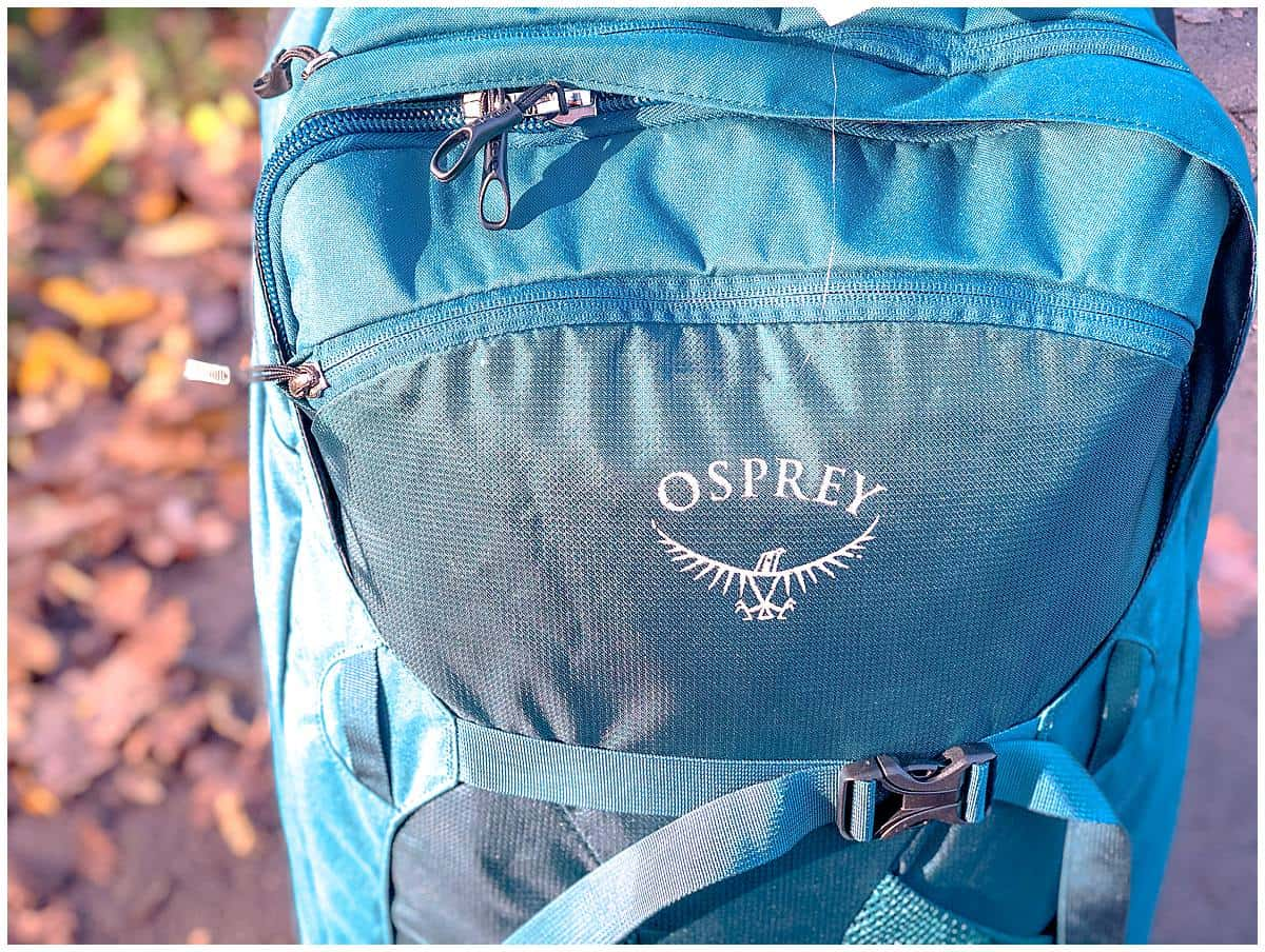Osprey Farpoint 65 Review on the road