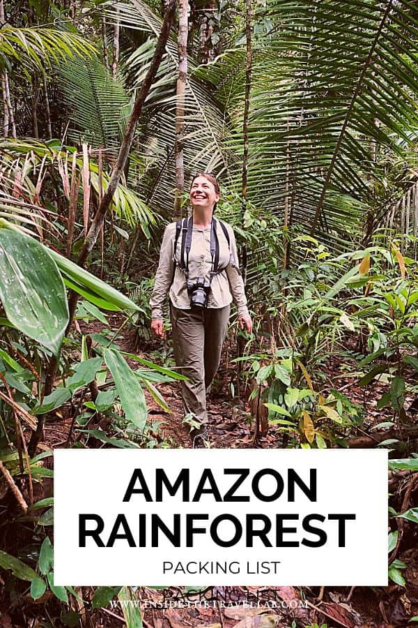 Amazon Rainforest Packing List cover image