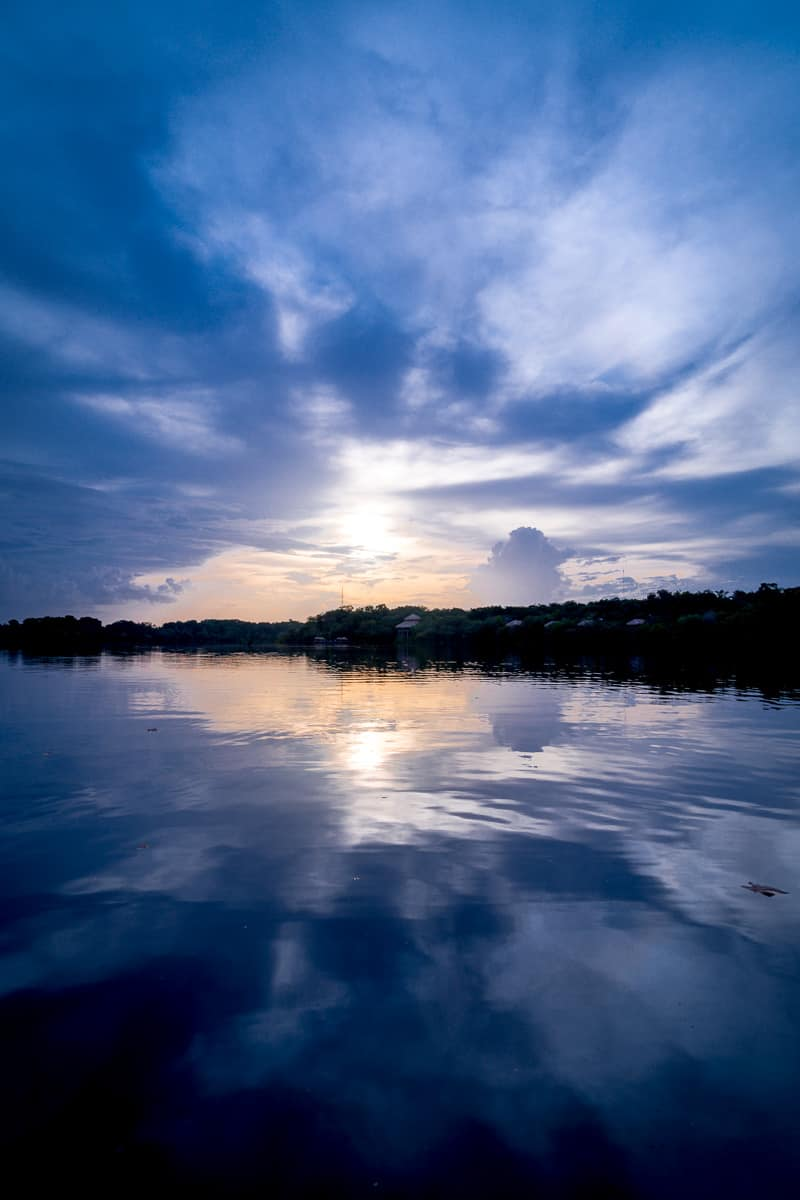 Brazil - Amazonas - watching the sunset as one of the best things to do in the Amazon