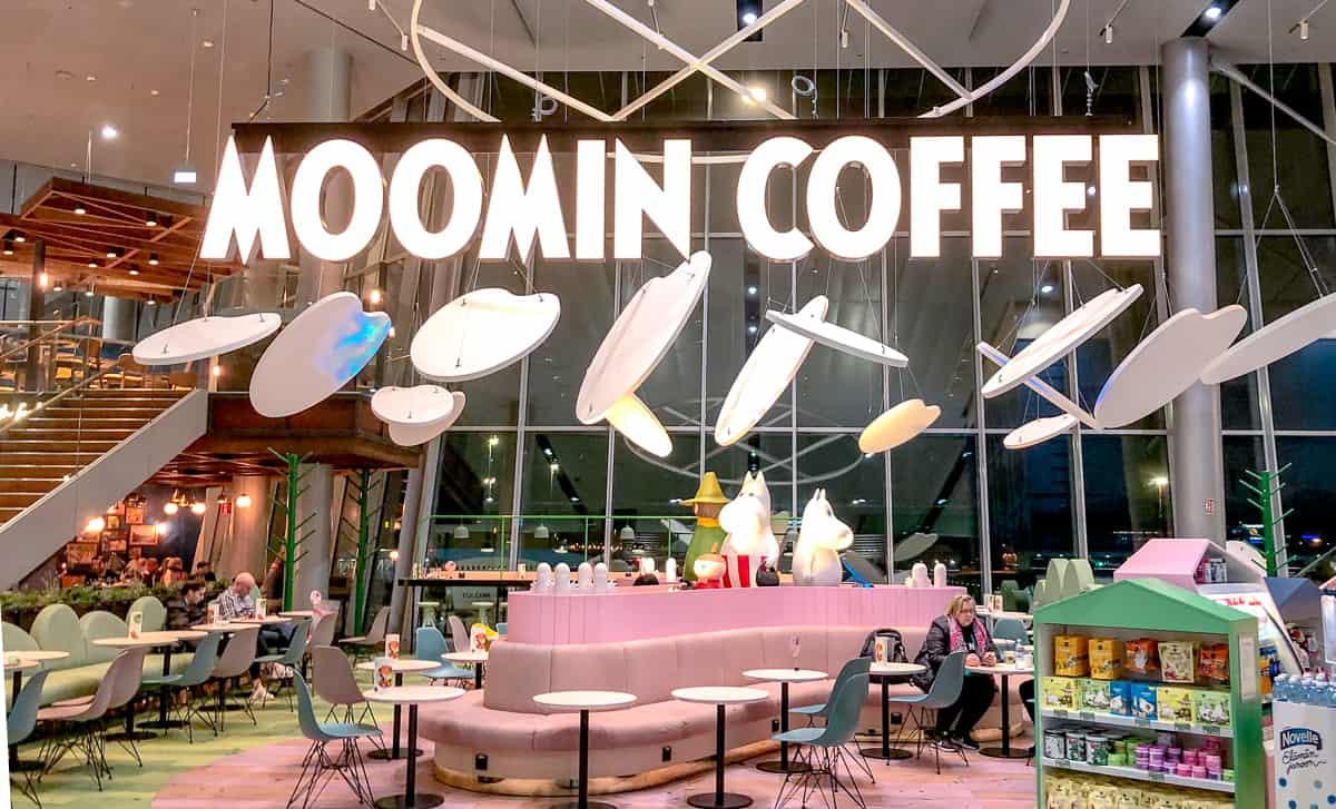 Finland - Helsinki - Airport - Moomin Coffee