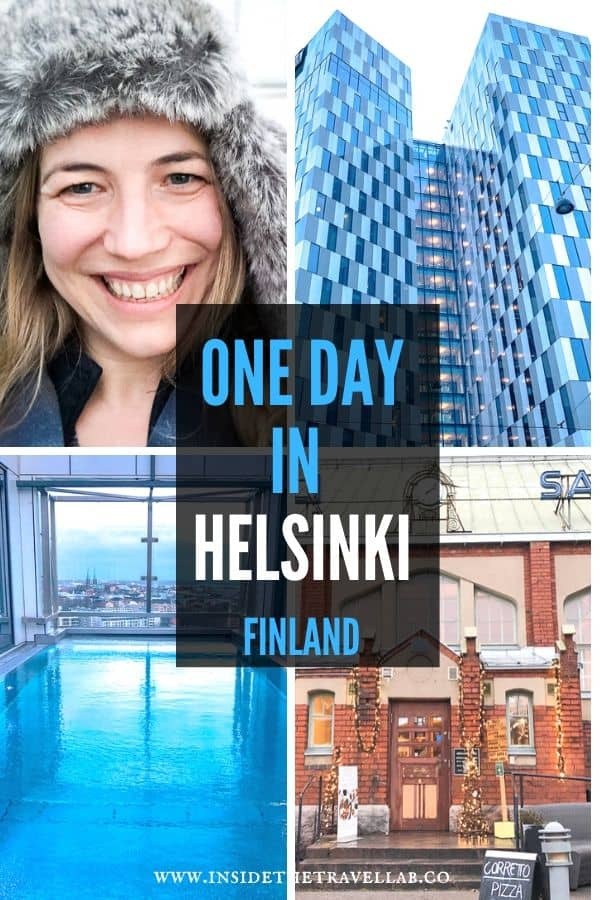 One day in Helsinki Finland