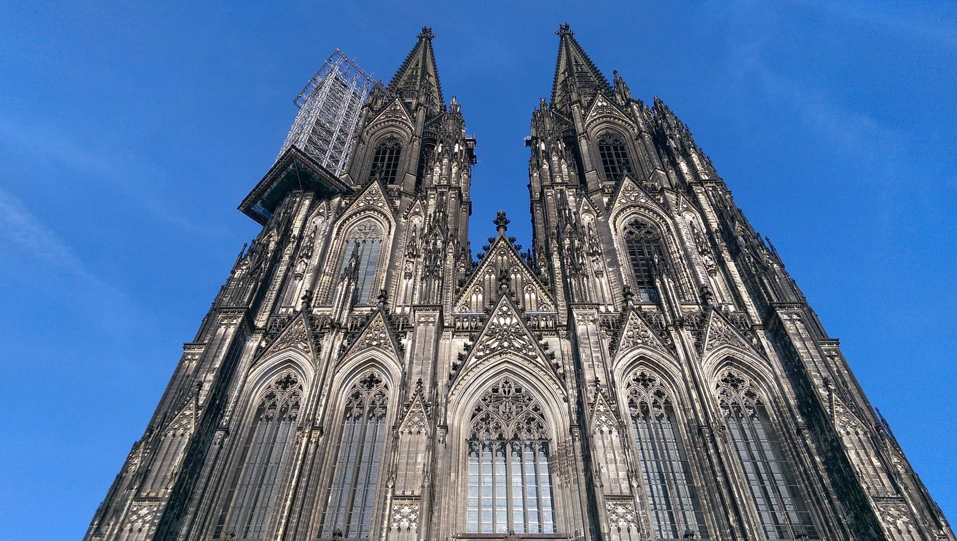 Germany - Cologne - Kölner Dom - Cathedral facade