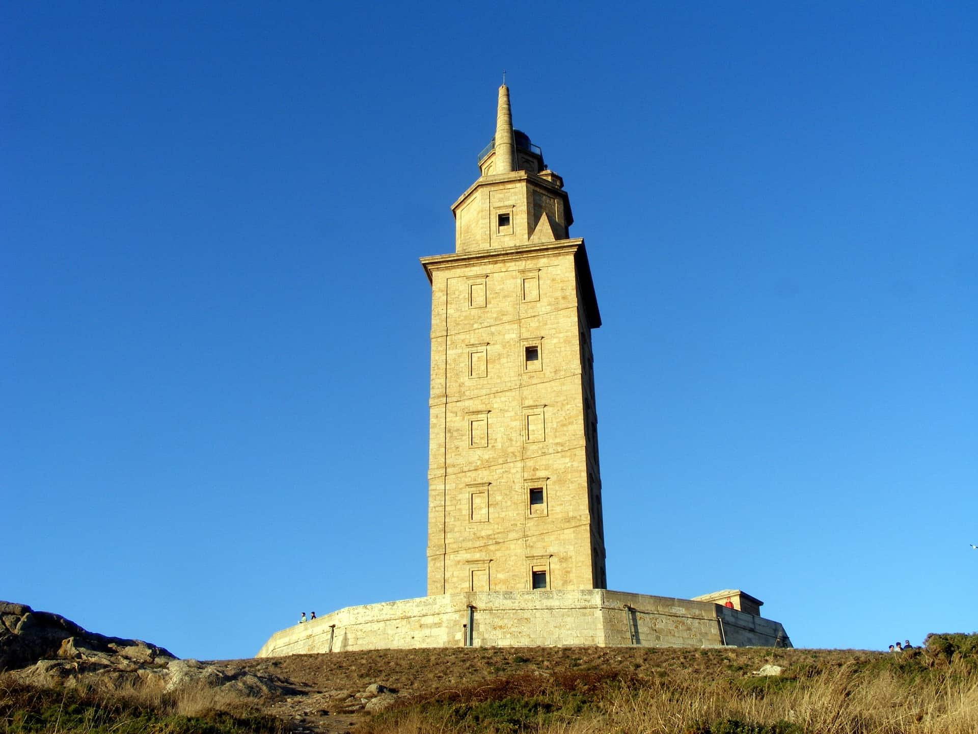 Spain - Galicia - Tower of Hercules UNESCO World Heritage Site Lighthouse