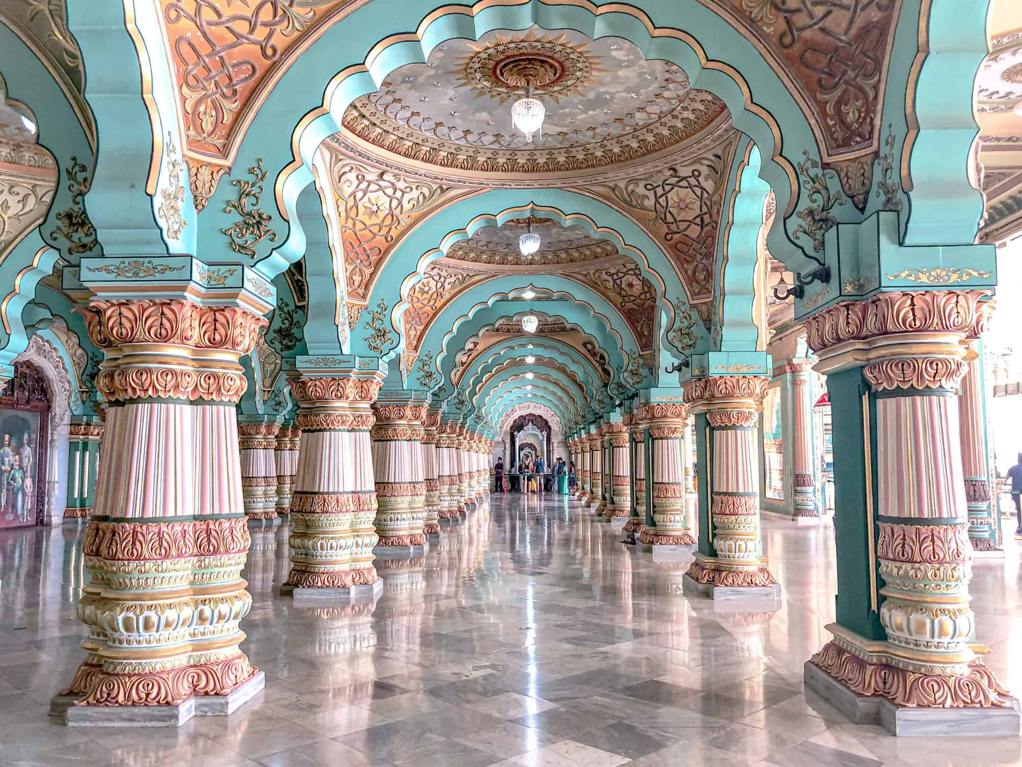 India - Karnataka - Mysore Palace Interior
