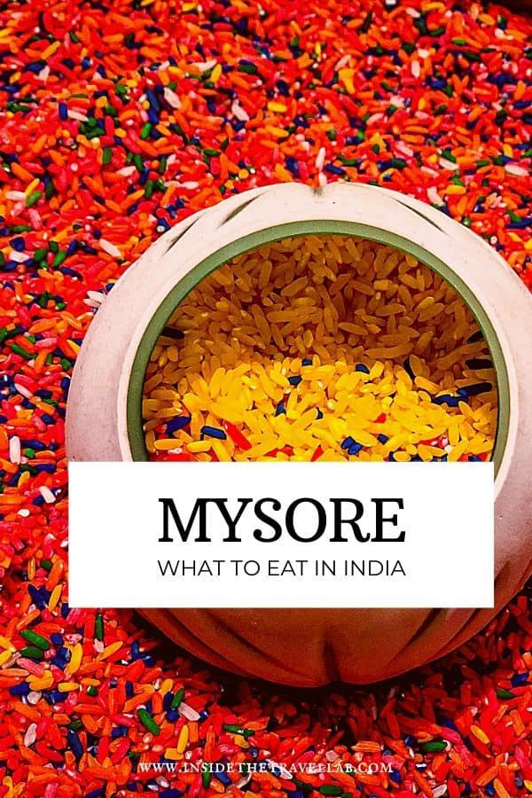 Mysore what to eat in India