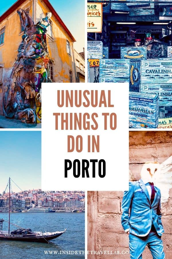 Discover unusual things to do in Porto with this guide to the unique and non-touristy ways to see the city. See the cool side of Porto with these unique things to see, do and eat. #Porto #Portugal #Porto
