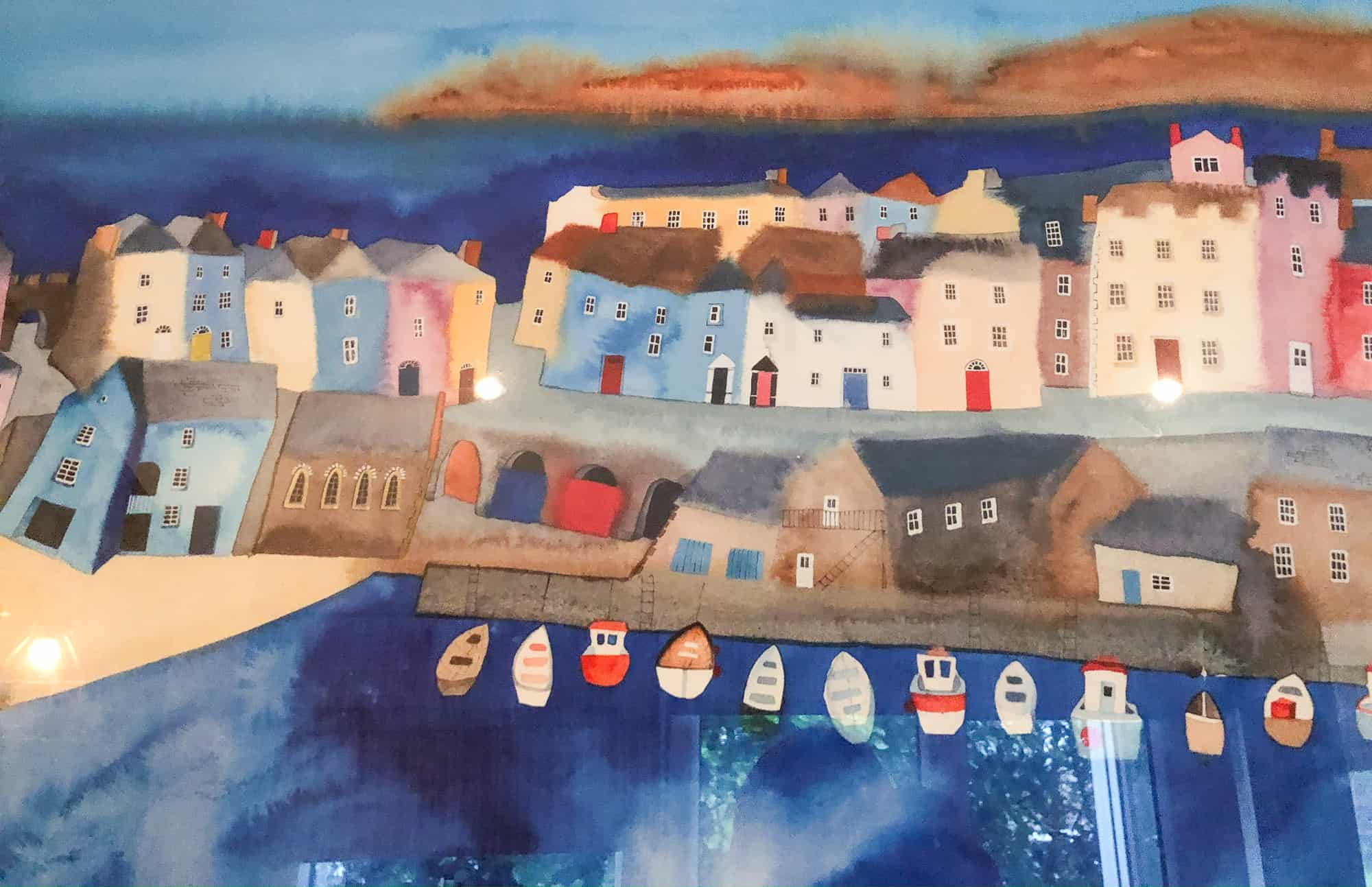 Wales - Pembrokeshire - Tenby Painting