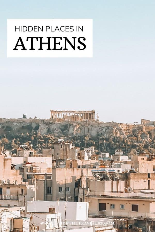 Hidden gems and unique things to do in Athens