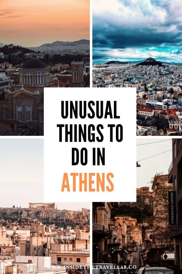 Unusual things to do in Athens - Unique and Hidden Gems in Athens cover image