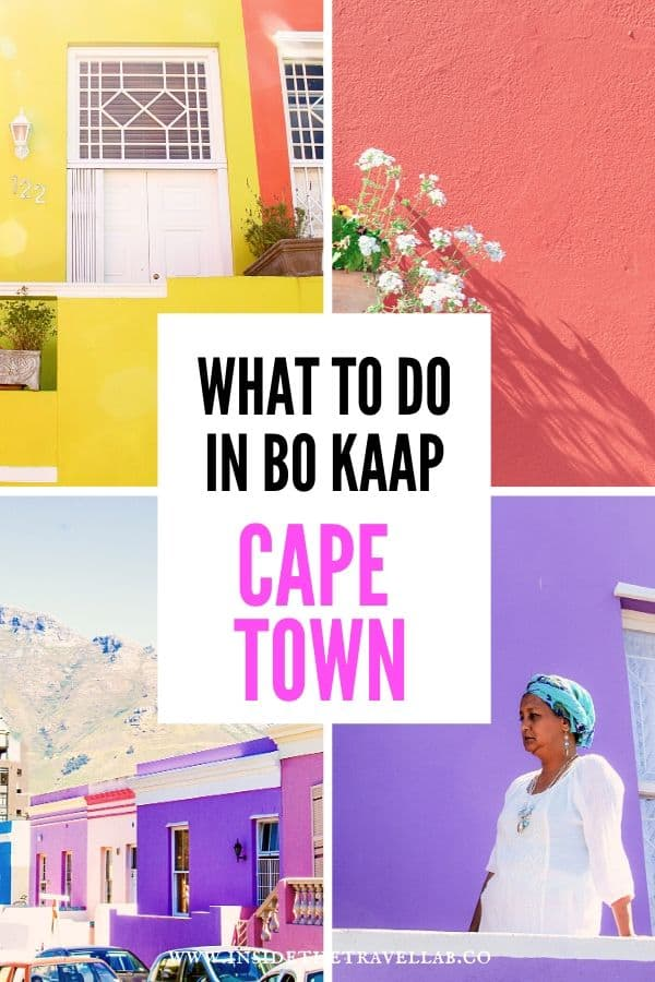 What to do in Bo Kaap Cape Town South Africa