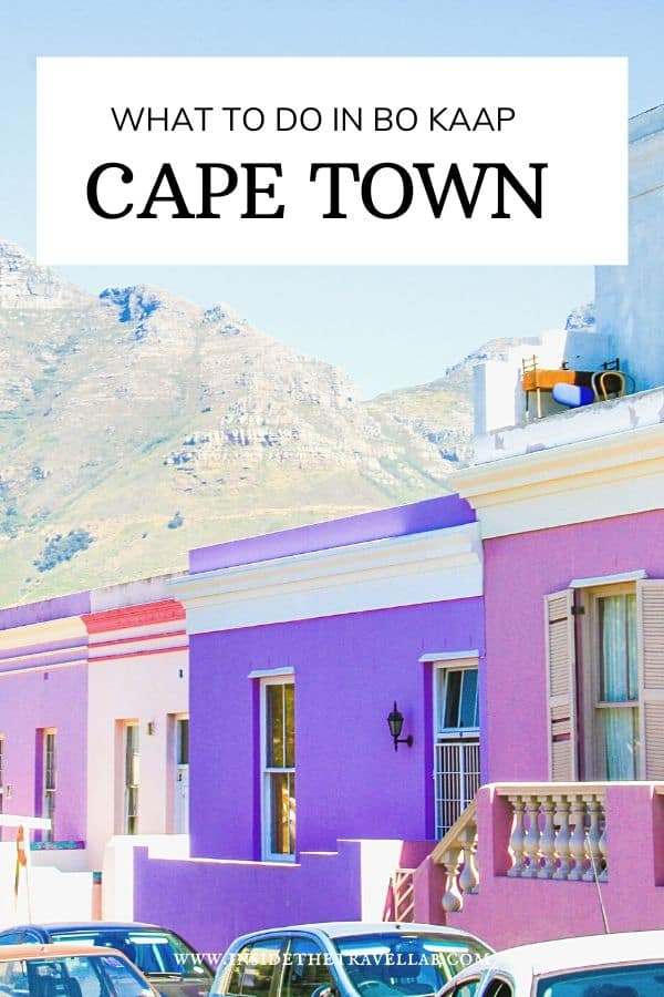 What to do in Bo Kaap Cape Town South Africa - How to visit respectfully