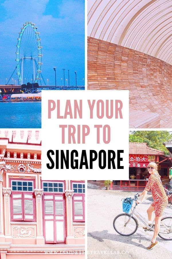 Plan your trip to Singapore with this two day Singapore itinerary
