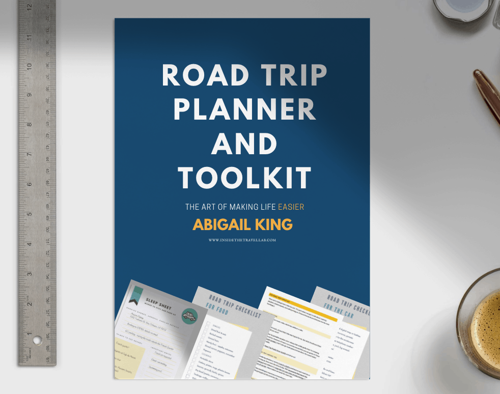 Road Trip Planner and Toolkit Abigail King Cover Image