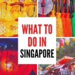 What to do in Singapore - an itinerary