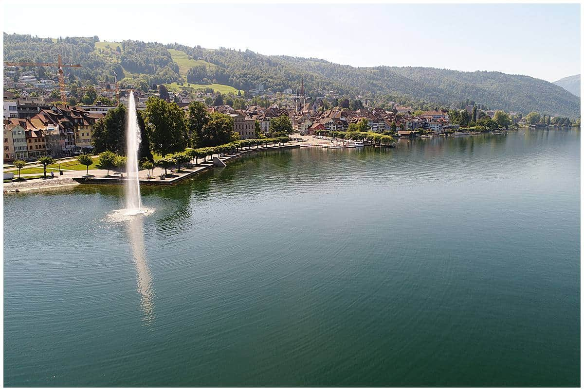 Lake Geneva Fountain and Old Town - Geneva Itinerary