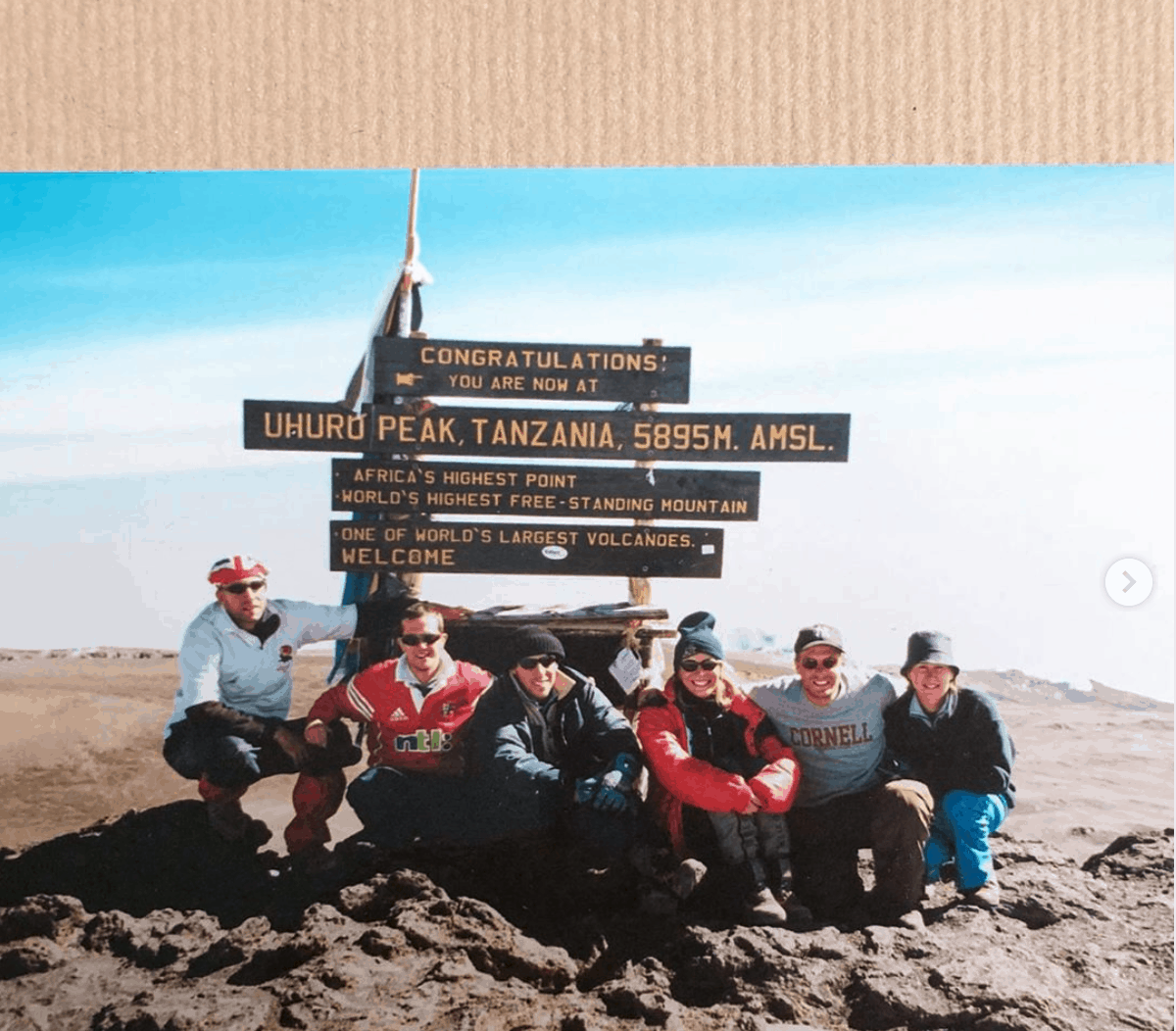 Kilimanjaro Peak Group Photo