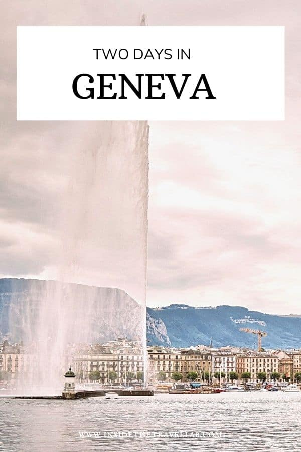 Two days in Geneva