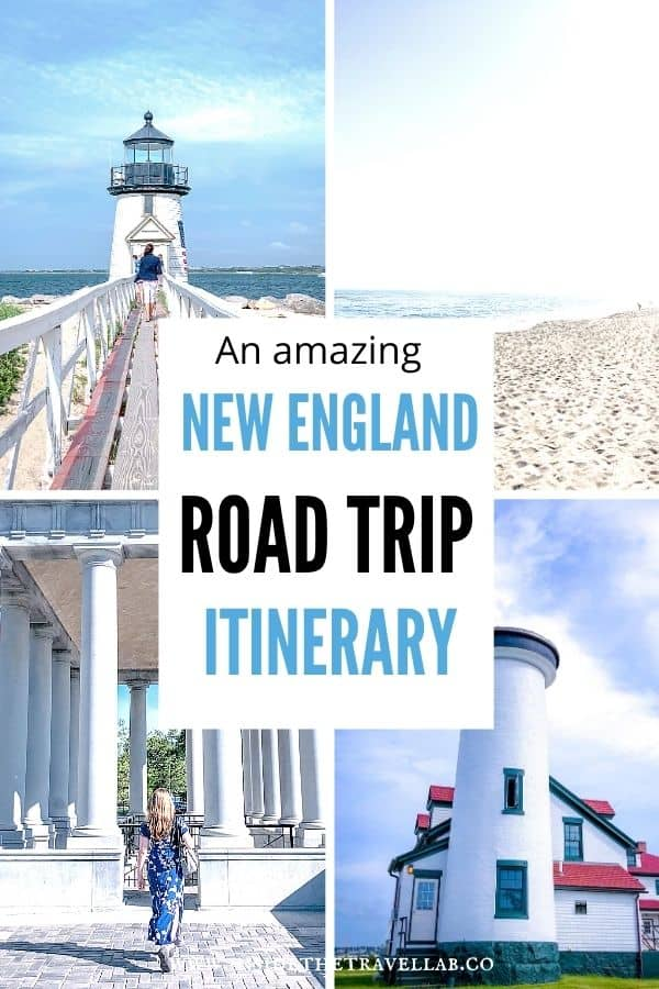 An amazing New England Road Trip itinerary