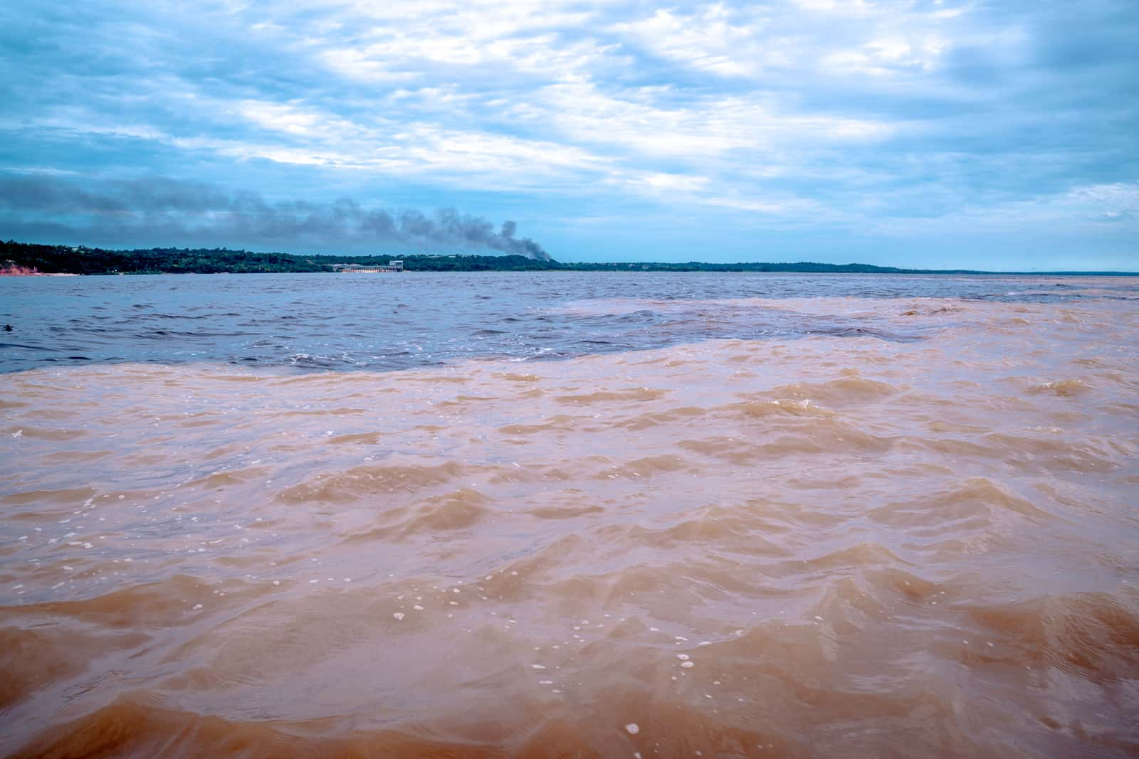 Brazil - Manaus - Meeting of the Waters