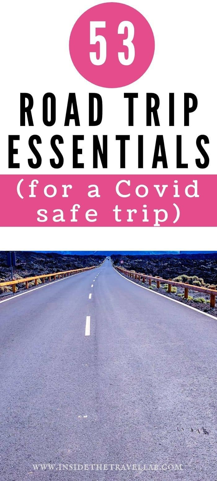 53 Road Trip Essentials