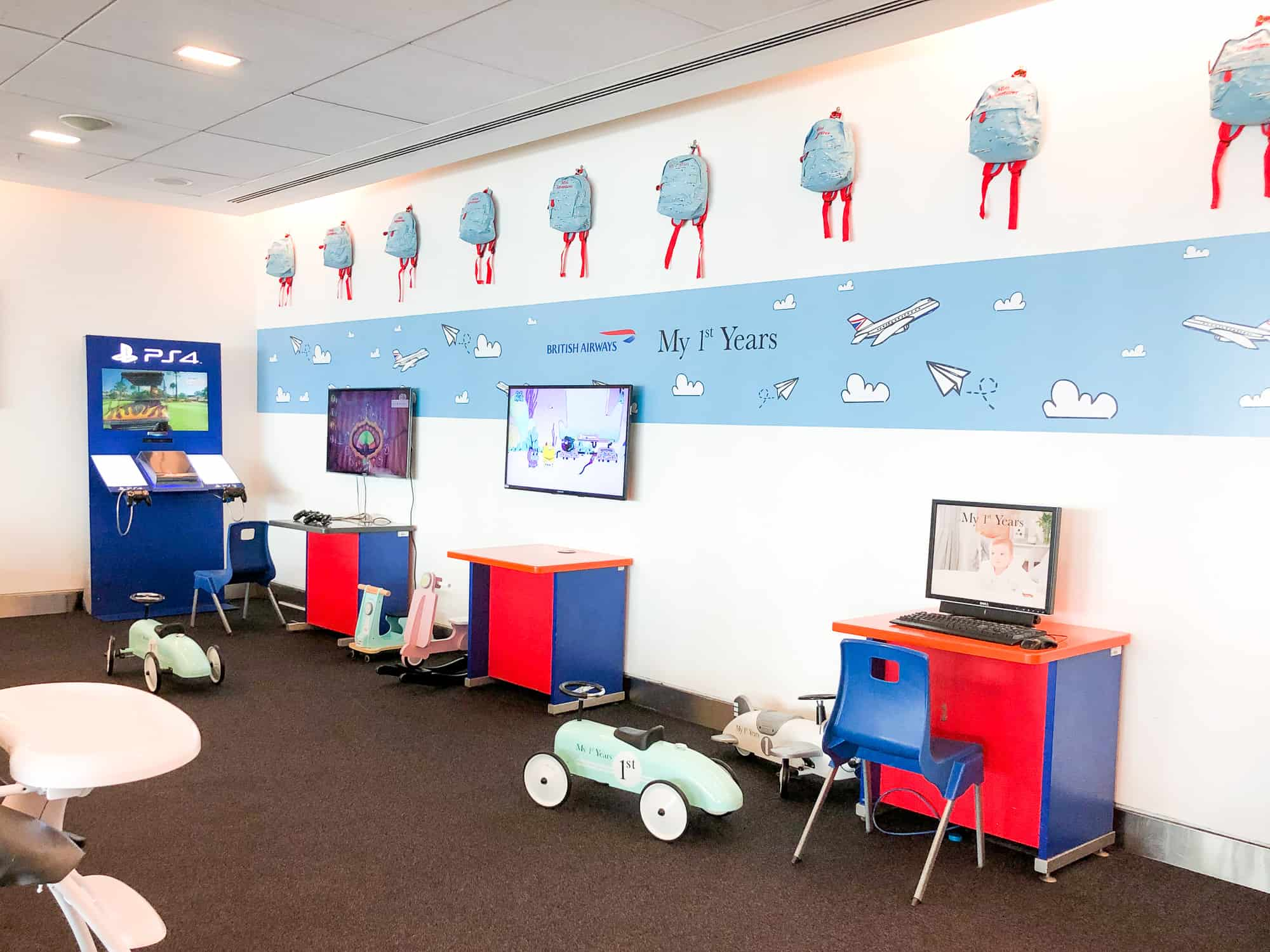 British Airways Business Class Review Club World Children Room