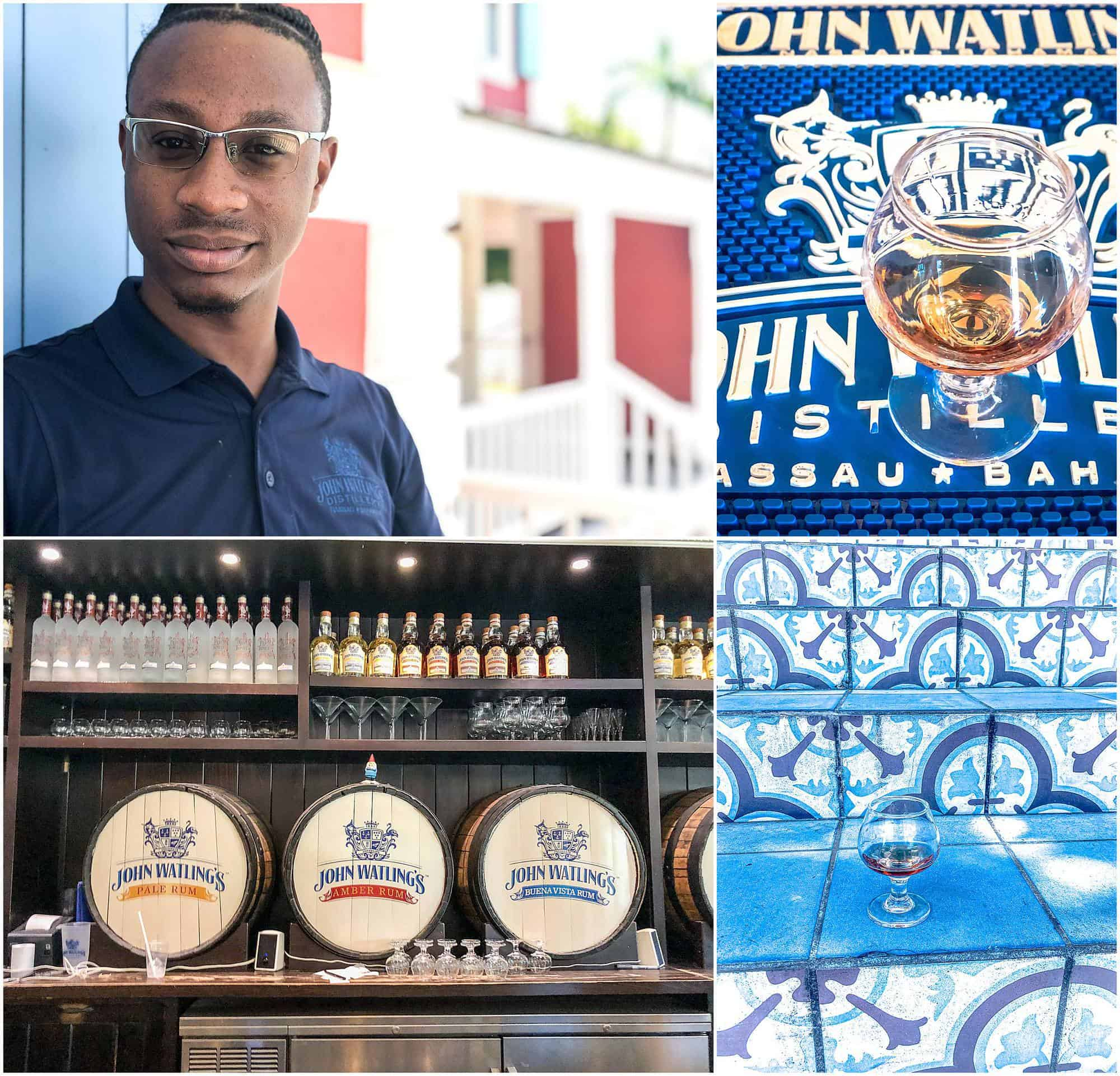 Bahamas - Nassau - Watling Distillery with Guide and Rum