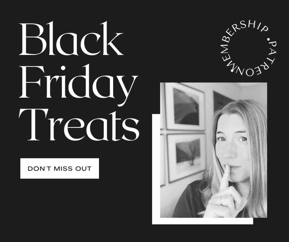 Black Friday Treats Patreon Membership