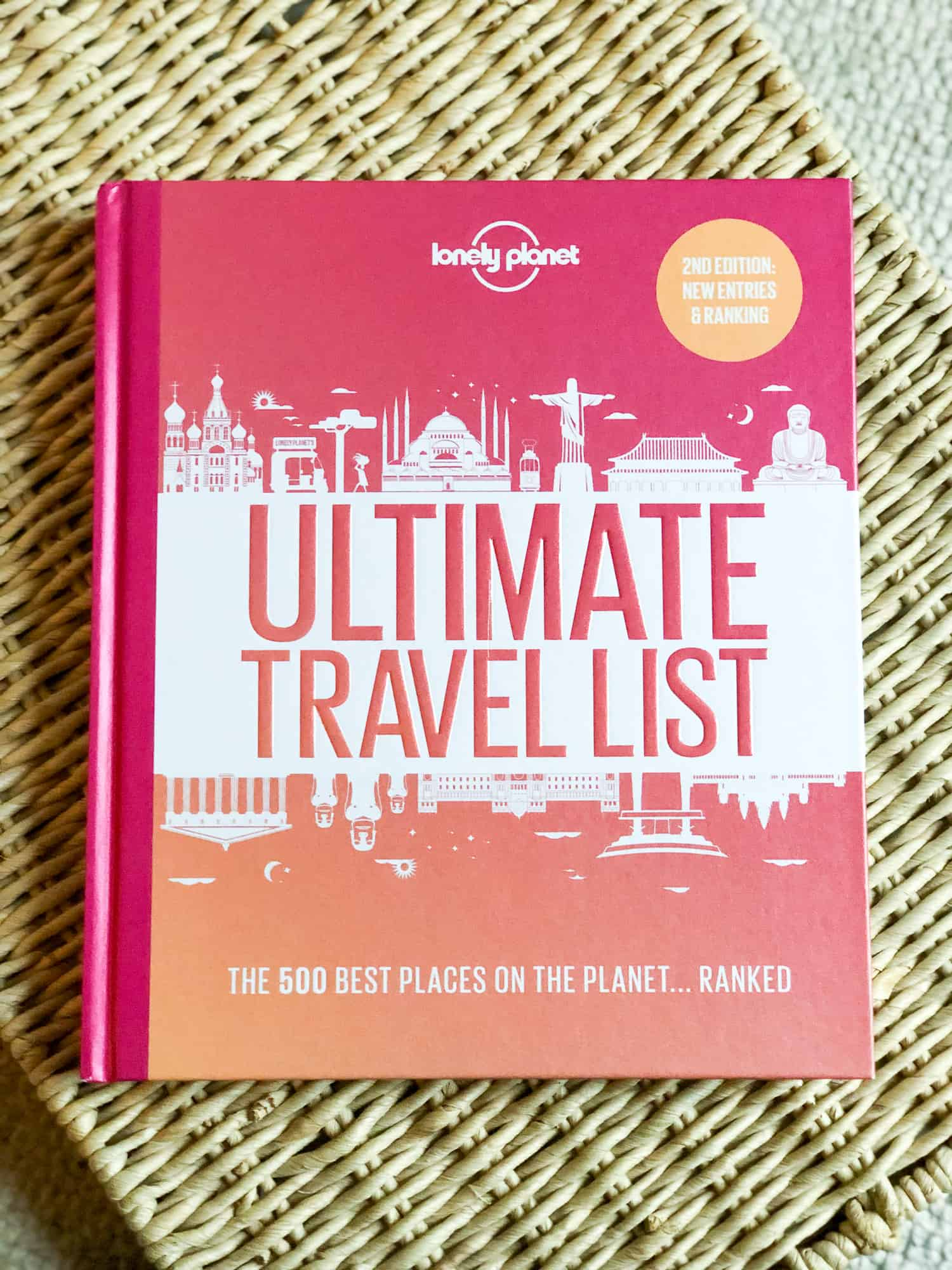 Gift Ideas for Women - Lonely Planet Ultimate Travel List Cover Photo