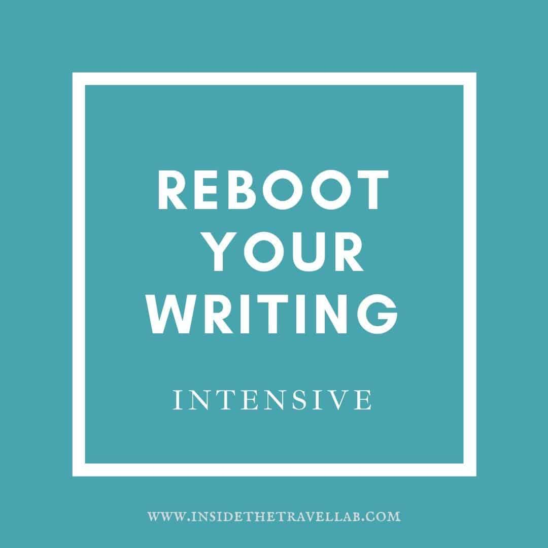 Reboot your writing cover image