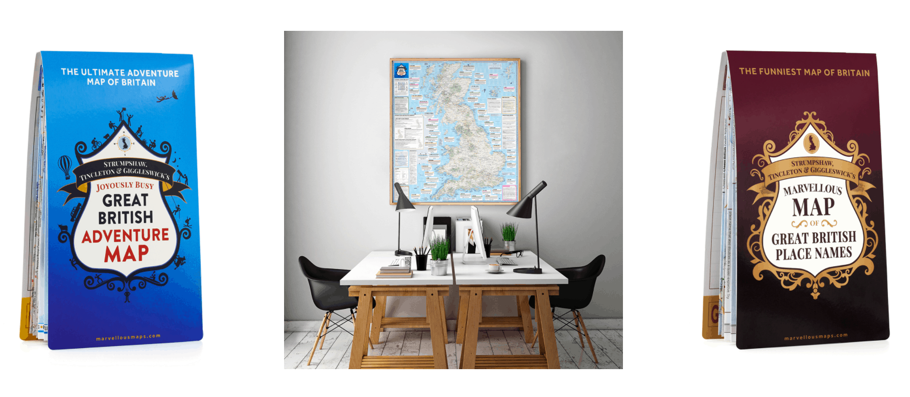 Travel Gift Ideas - Marvellous Maps