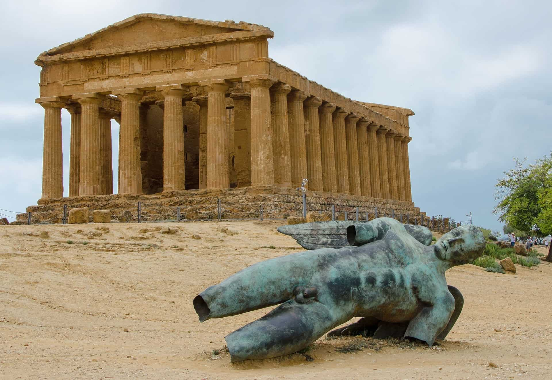 Italy - Sicily - Valley of the Temples UNESCO World Heritage Site