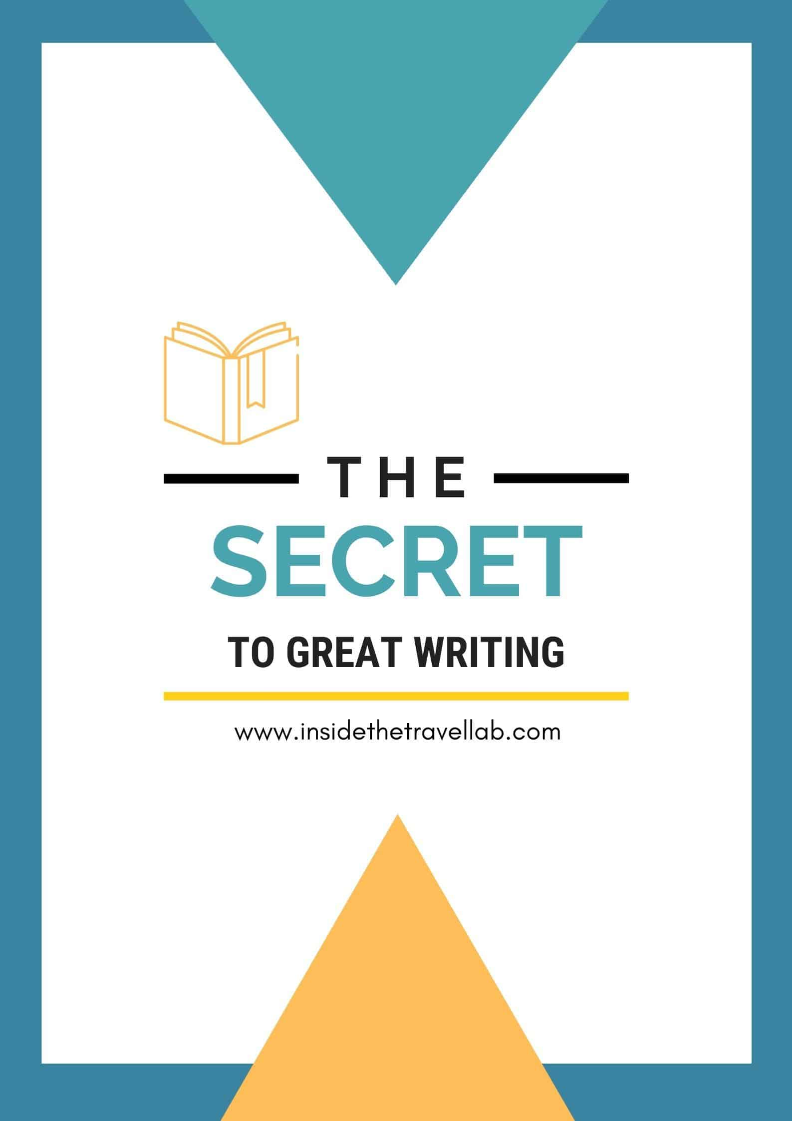 The Secret to Great Writing Cover