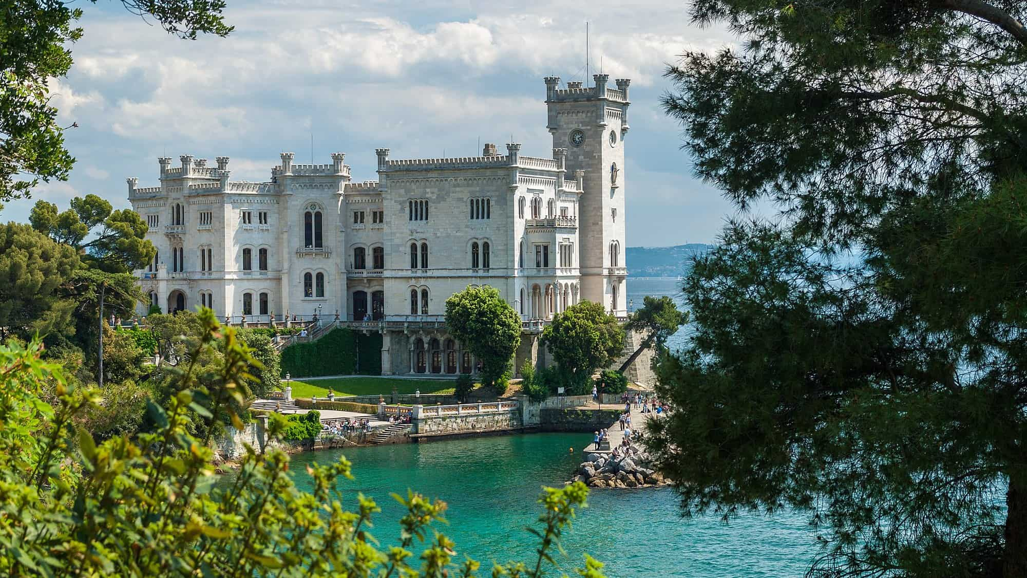Italy - Trieste - Miramare Castle - Best things to do in Trieste