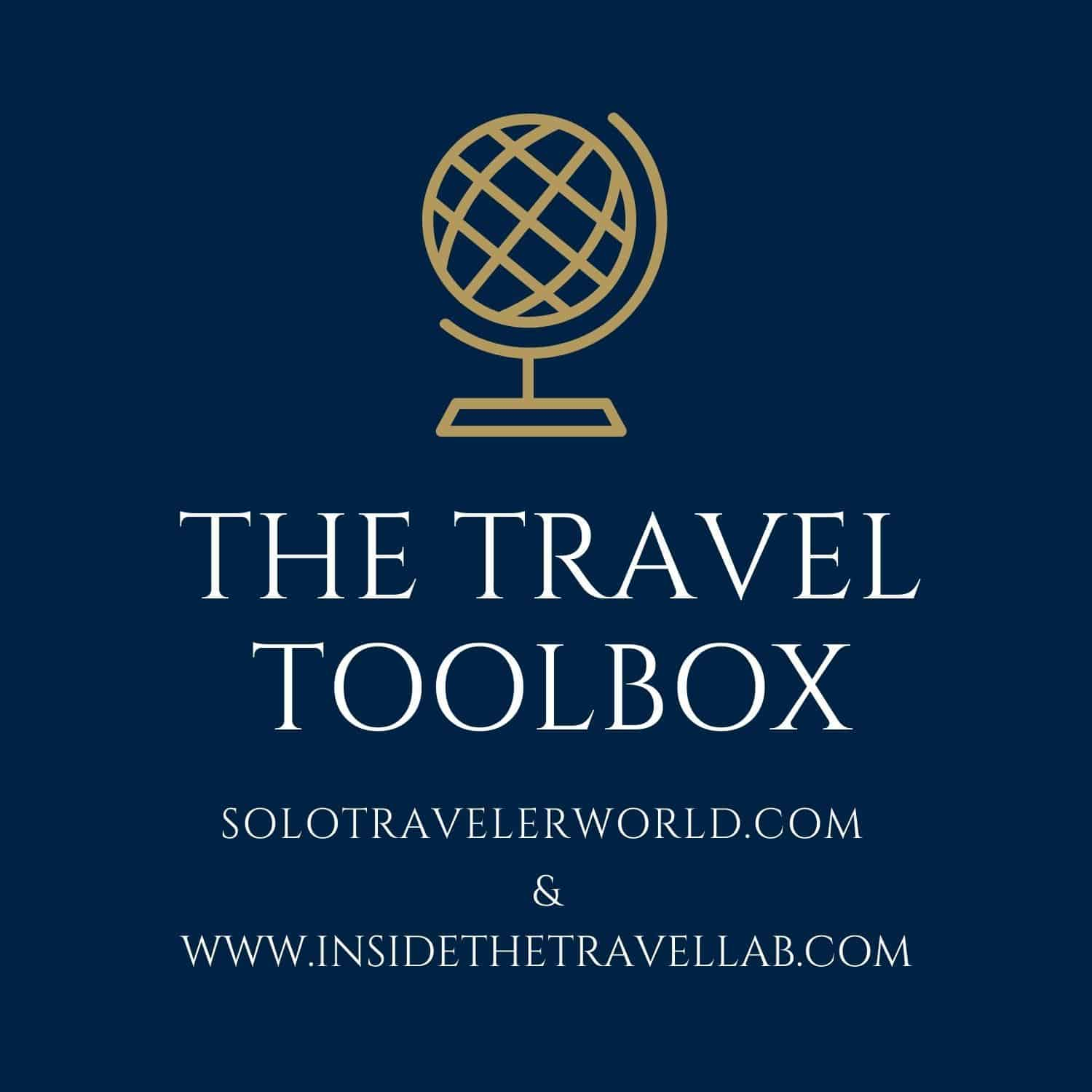 Travel Toolbox with Solo Traveler