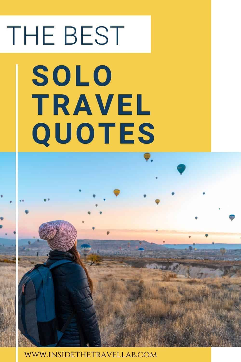 The best solo travel quotes for instagram captions
